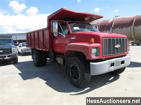 Used Chevrolet Kodiak Steel Dump Truck For Sale