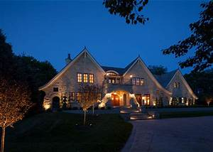 Traditional Home with Transitional Interiors - Home Bunch