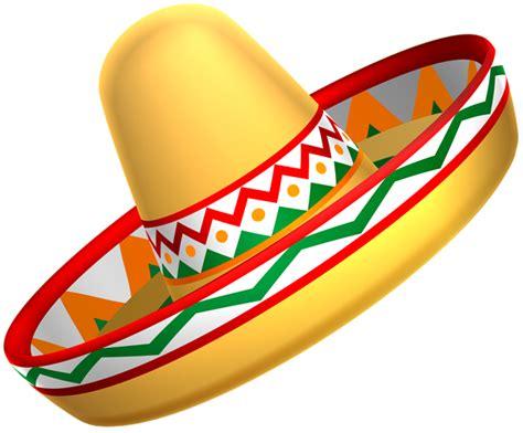 Mexican Sombrero Hat Transparent PNG Clip Art   Gallery ...