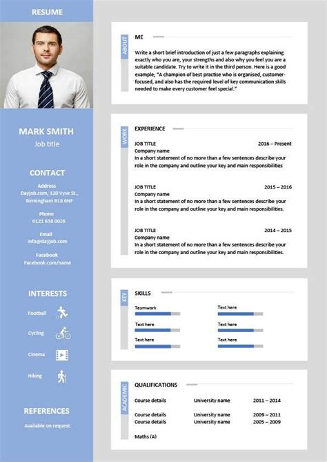Eye Catching Resume by 17 Best Ideas About Resume Format On