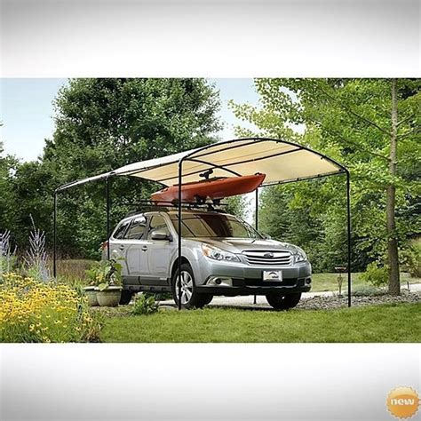 Outdoor Boat Canopy by Portable Carport Canopy Frame Outdoor Car Shelter Garage