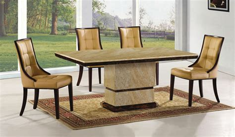 Round Back Dining Chairs by Pick Of The Week Amida Marble Dining Table Set