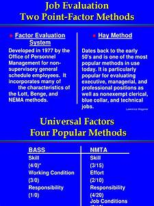 Hay System Job Evaluation Power Point