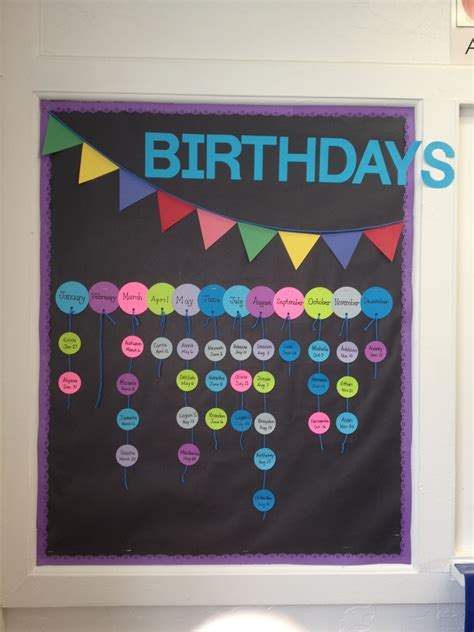 birthday bulletin board ideas for preschool birthdays bulletin board i made one similar to this at 785