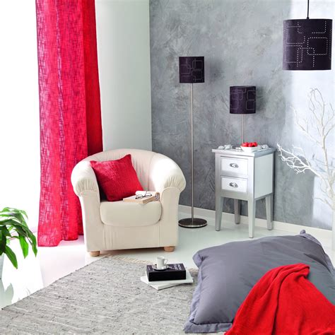 chambre couleur framboise salon gris et pale