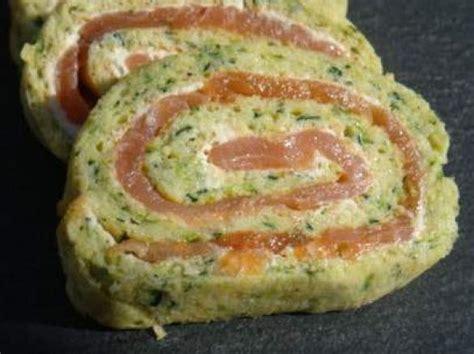 recettes boursin cuisine roulés aux courgettes et saumon fumé par clotilde74 une