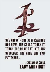 The Dark Artifi... Cassandra Clare Warrior Quotes