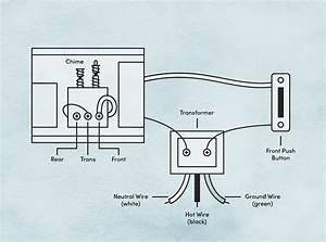 4 Wire Doorbell Wiring Diagram