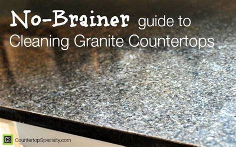 how to keep granite shiny and clean ask home design