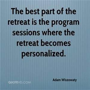 Retreat Quotes.... Point Of Retreat Quotes