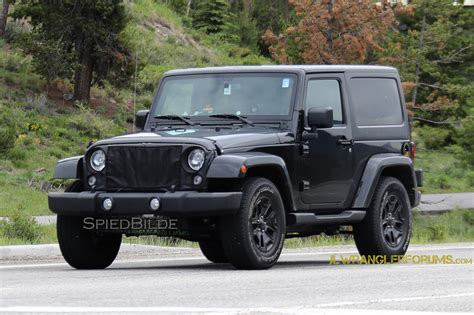 2018 Jeep Wrangler Forum by 2018 Jeep Wrangler Jl Mule Confirms Six Speed Manual