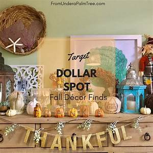 Target Dollar Spot Fall Dcor Finds