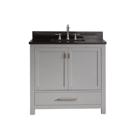 inch bathroom vanities 36 inch single sink bathroom vanity in chilled gray 36