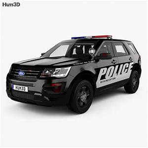 Ford Explorer Police Interceptor Utility With Hq Interior