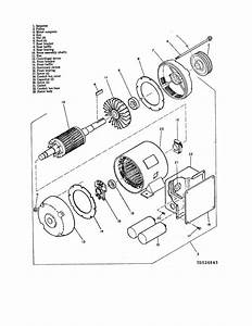 Figure 6-1  Electric Motor  Exploded View