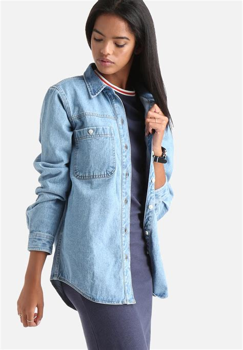light denim jacket womens smoky denim light jacket medium blue denim adpt jackets