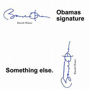 Obama's signa... Stupid Signature Quotes