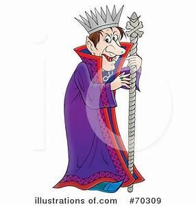 King Clipart #70309 - Illustration by Alex Bannykh
