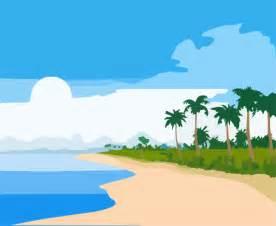 Cartoon Beach Clip Art