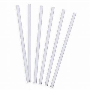 Tervis® 6-Pack Straight Drinking Straws in Clear - Bed