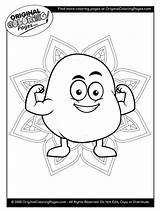 Coloring Pages Potato sketch template