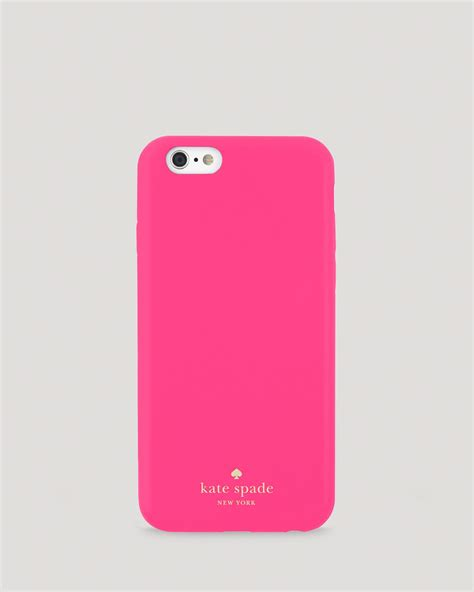 kate spade iphone cases kate spade new york iphone 6 leather wrap in pink