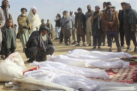 news afghanistan u s bombed afghan homes in self defense