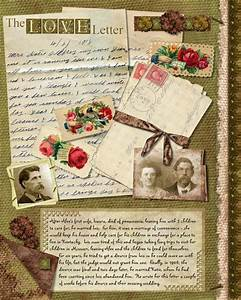 17 best images about slektsgransking on pinterest old With love letter scrapbook
