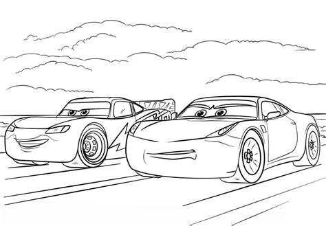 disegni da colorare di cars saetta immagini cars da colorare stae colorare