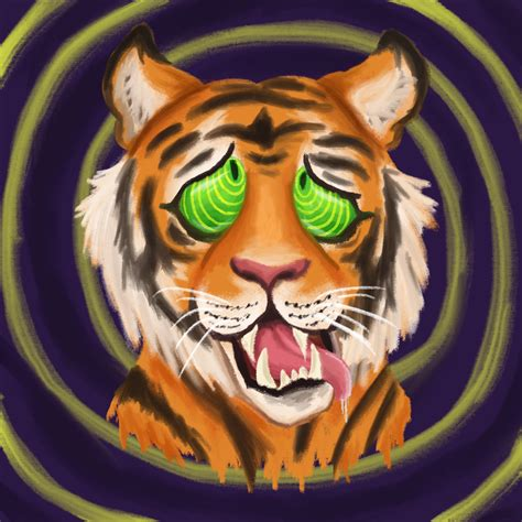 Trippy Animal Wallpaper - trippy tiger wallpaper impremedia net