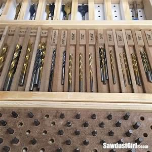Drill Bit Storage Tray - Sawdust Girl®