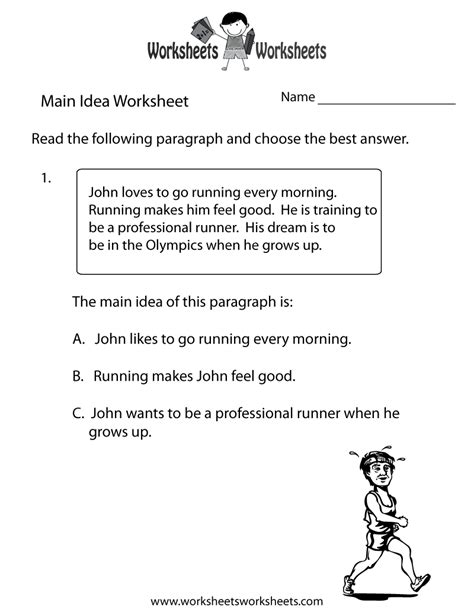 idea worksheets 4th grade printable 17 best images of idea worksheets for 4th grade