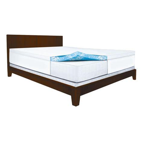 king memory foam mattress sleep innovations 2 5 in king gel swirl memory foam