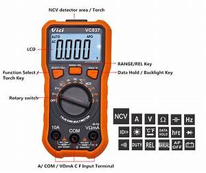 Dt832 Digital Multimeter User Manual
