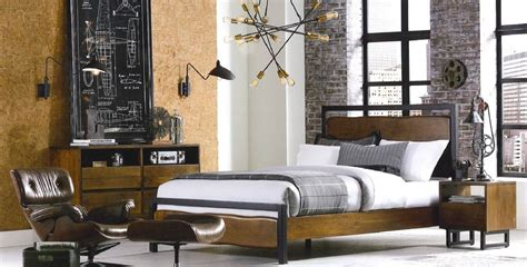 eclectic modern industrial style furniture shop
