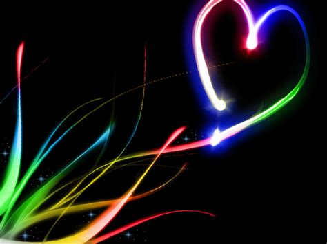 Background Neon Wallpaper by Neon Hearts Wallpaper Gallery