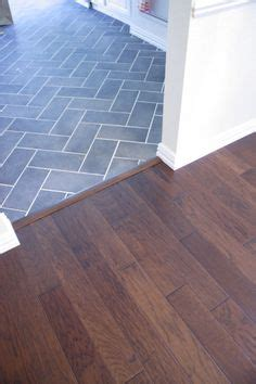 tile flooring next to hardwood i love the transition from the wood to the laminate home ideas pinterest patterns i love