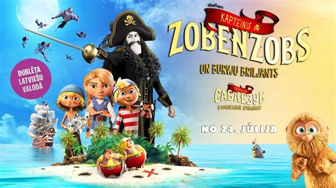 KAPTEINIS ZOBENZOBS UN BURVJU BRILJANTS - trailer (Dublēta ...