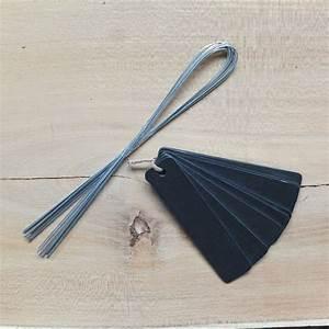 Fil Accroche Photo : etiquette zinc fil d 39 accroche botanique editions ~ Premium-room.com Idées de Décoration