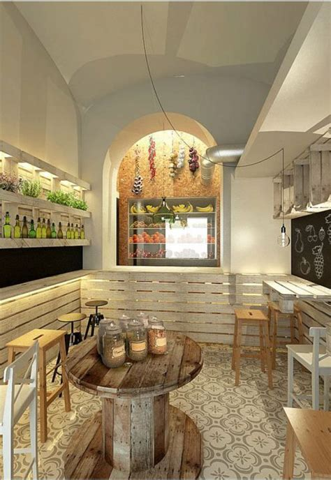 restaurantes ambientados  palets fachadas