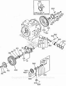 Robin  Subaru Ey21 Parts Diagram For Crankshaft  Piston