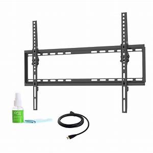promounts fino 42 in 80 in tilt tv mount bracket kit With tv mount wiring kit