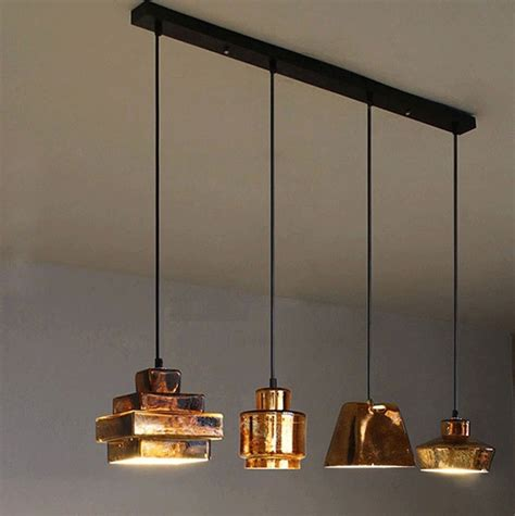 glass pendant lights for kitchen retro classic pendant