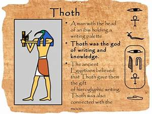 Thoth Egyptian God Symbol