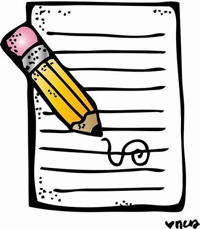 Clipart Writing Birthday Google Clip Pencil Melonheadz