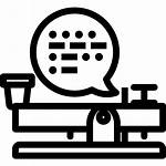 Morse Code Stop Icons Icon Communication Han