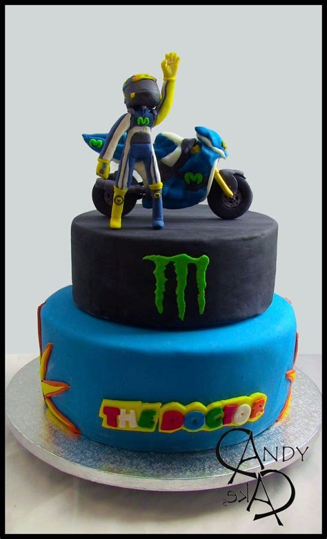 valentino rossi birthday cakes themed images