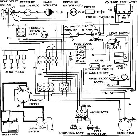 Hyster Alternator Wiring Diagram by 7 Best Images Of Caterpillar Starter Wiring Diagram Cat