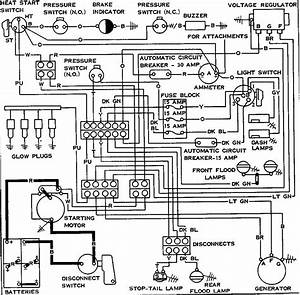 7 Best Images Of Caterpillar Starter Wiring Diagram
