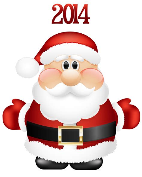 cute santa christmas clipart   cliparts